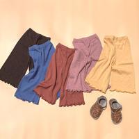 summer vacation // kids  wide pants 【再入荷】※一部予約
