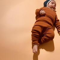 【retro rib】baby leggings