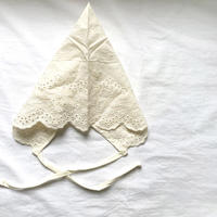 triangle lace bonnet