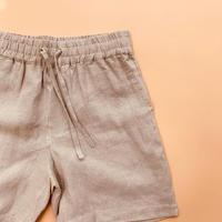 dad linen short pants