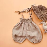 baby linen balloon pants