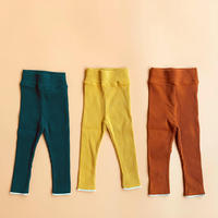 【retro rib】kids  straight  pants