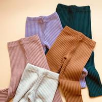 raised rib leggings  / select item