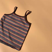 emas select // multi border camisole