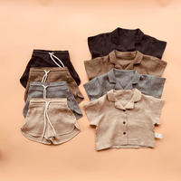 【quality time】linen shirt kids setup
