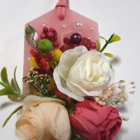 アロマワックスバー・ブリザブド薔薇赤 G