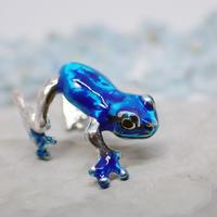 アマガエルイヤーカフ(blue)