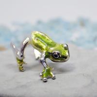 アマガエルイヤーカフ(green)