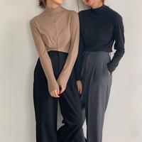 【cs005】プチハイネックボトミングシャツ(6カラー)