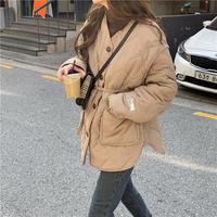 【jk008】パイピング中綿キルティングジャケット(3カラー)