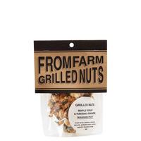 GRILLED NUTS ( ミックスナッツ )  - MAPLE SYRUP&HASSAKU ORANGE ( メイプルシロップ&はっさく ) ハーフサイズ 90g
