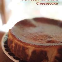 <常時受付>【18㎝ホール】まめ吉の焼きチーズケーキ   1ホール