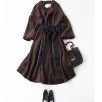 BLUEBIRD BOULEVARD Faux Fur  Coat (A-Line) /ブルーバード ブルバード Aライン エコファーコート