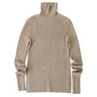 BLUEBIRD BOULEVARD Pure Cashmere Turtleneck Sweater/ブルーバード ブルバード ピュアカシミヤタートルニット