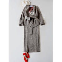 BLUEBIRD BOULEVARD Rib Stitch Knit Maxi Skirt /ブルーバードブルバード ローゲージリブニットマキシスカート