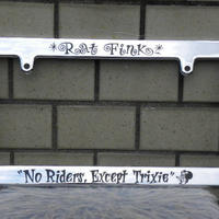 ラットフィンク ライセンス フレーム No Riders RAF260CHNO