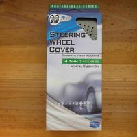 スポーツ グリップ ステアリング ホイール カバー グレー CAI360GY