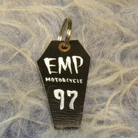empty's motorcycle オリジナル キーリング コフィン