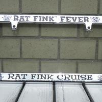 Rat Fink クロームライセンス フレーム RAF260