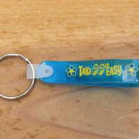 Take it Easy Loop キー リング ブルー MKR159BL