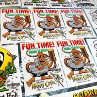 Rat Fink x MOON Cafe ステッカー MQD037