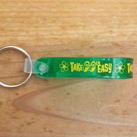 Take it Easy Loop キー リング グリーン MKR159GR