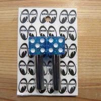 グリッター ダイス ドアロック ノブ カラー ブルー AA112GBL