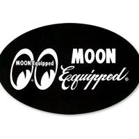 MOON Equipped オーバル ステッカー MQD027BK