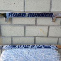 ロード ・ ランナー ライセンス フレーム クロームタイプ RR002CHRL