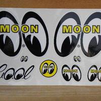 ムーンアイズ 8アイズ ステッカー DM001A