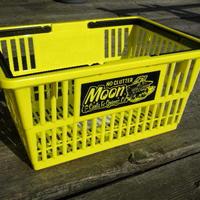 MOONEYES ショッピング バスケット スモール イエロー MG672YE
