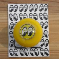 MOONEYES Eyeball シフトノブ イエローシフトS イエローエンブレム MP021YYS