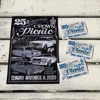 Crown Picnic 2020 ステッカー DM236