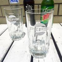 PEPSI レトロ グラス