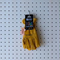 SUEDE COWHIDE GLOVES for KIDS / KINCO
