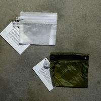 VINTAGE PARACHUTE LIGHT POUCH【Small】