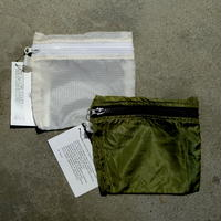 VINTAGE PARACHUTE LIGHT POUCH【Medium】
