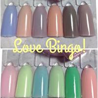 Love Bingo! 温度で色が変わる!カラージェル6種