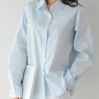 SH871 パステルコットンシャツ