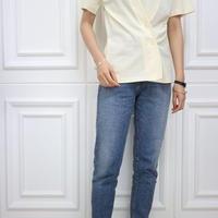 T1034  ボタン付きTシャツ