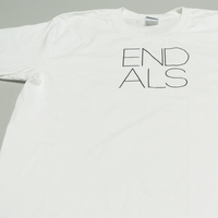 END ALS BASIC TEE WHITE (XXL)