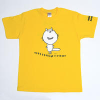 くるみちゃんTシャツ(フクマル・イエロー)  小さいサイズ