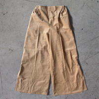 Berlin  WOMEN  Corduroy Wide Pants --Beige