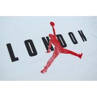 "NIKE AIR JORDAN JUMPMAN LOGO TEE ""LONDON"" WHITE ナイキ エアジョーダン Tシャツ ロンドン限定 ホワイト"