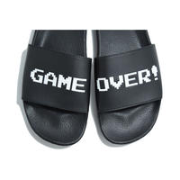 VANS × NINTENDO GAME OVER SLIDE SANDAL BLACK  バンズ サンダル 任天堂