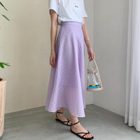 bola ginghamcheck skirt