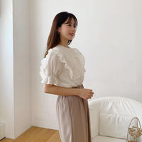 sailor puff blouse