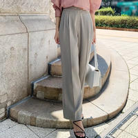 smooth wide pants