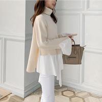 layered design knit