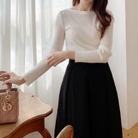 marble rib knit